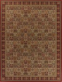 Garden Design Red Bakhtiari Turkish Large Rug 11x15