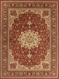 Floral Red Tuscan Agra Turkish Area Rug 9x12