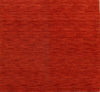 Solid Red Gabbeh Modern Square Area Rug 5x5