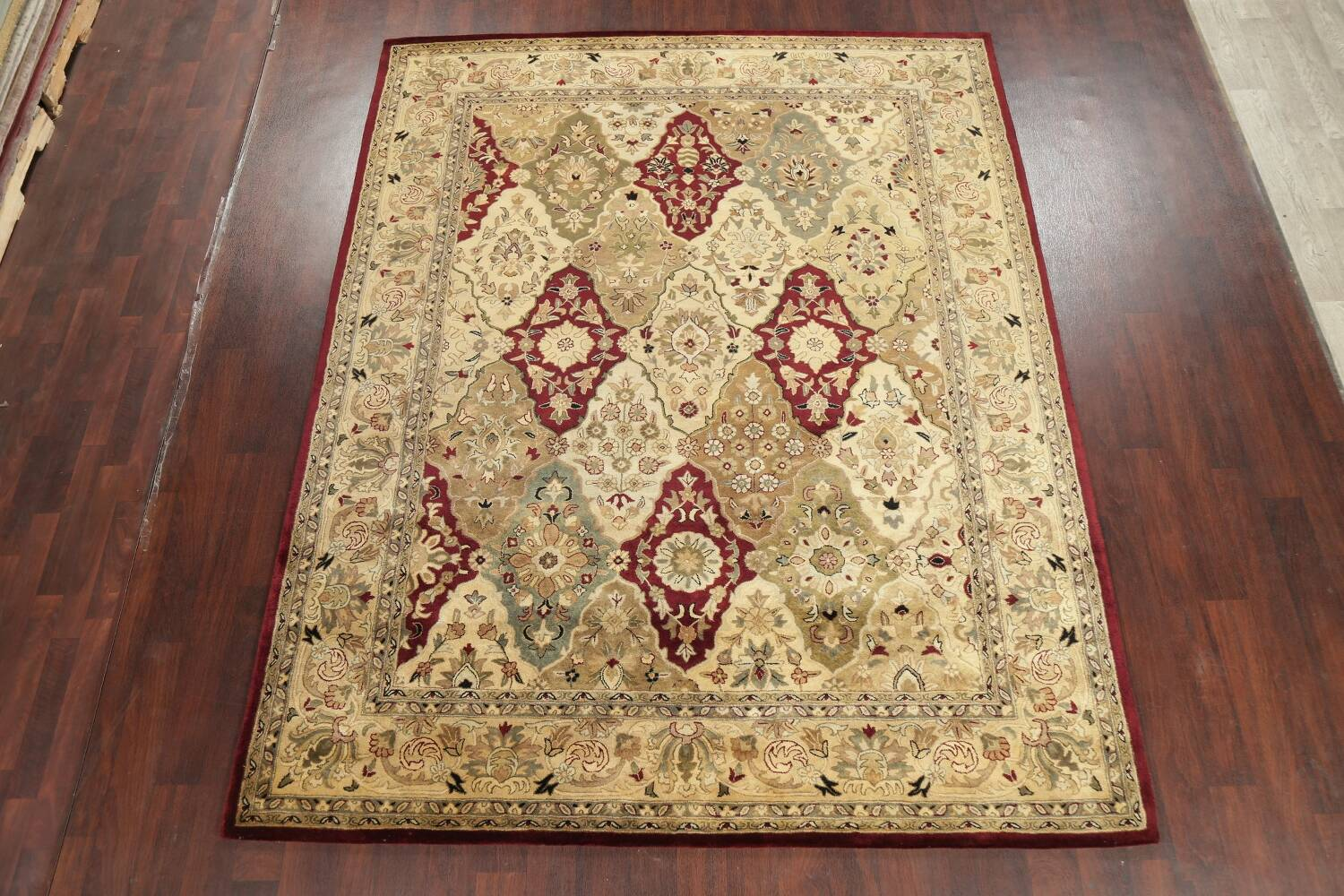 All-Over Floral Agra Oriental Area Rug 8x10 image 2