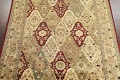 All-Over Floral Agra Oriental Area Rug 8x10 image 3