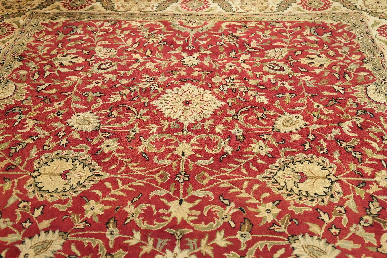 All-Over Floral Agra Oriental Area Rug 8x10 image 12