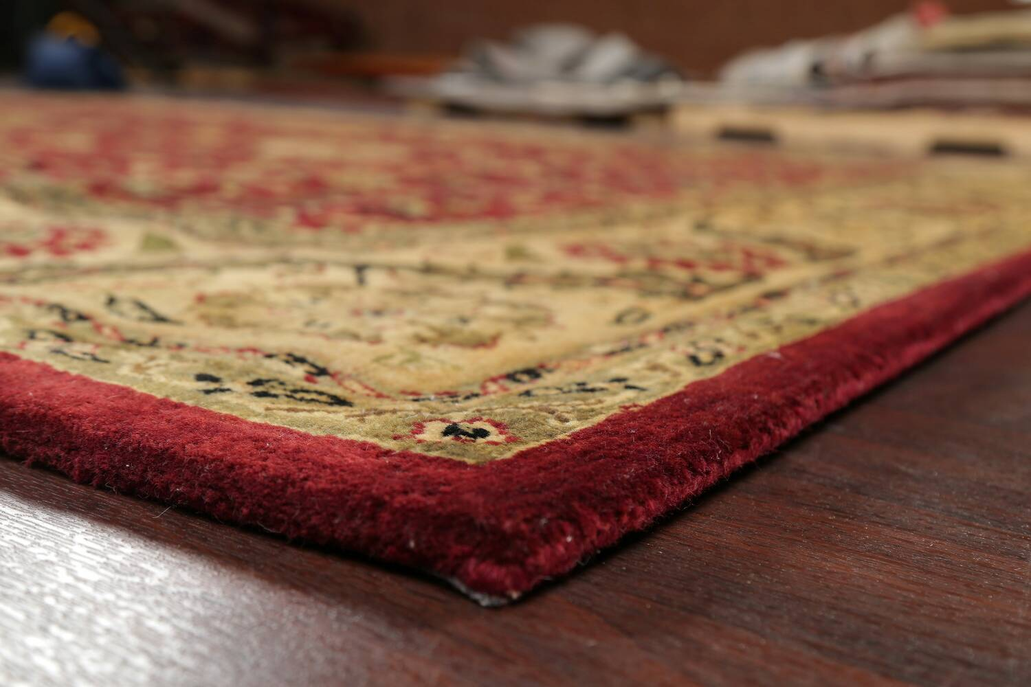 All-Over Floral Agra Oriental Area Rug 8x10 image 6