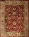 All-Over Floral Agra Oriental Area Rug 8x10 image 1