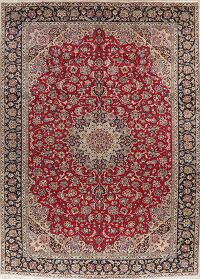 Vintage Floral Red Najafabad Persian Area Rug 10x13