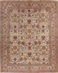 Vintage All-Over Tabriz Persian Area Rug 10x13