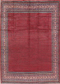 All-Over Red Botemir Persian Area Rug 8x11