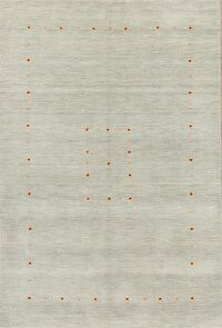 Contemporary Gabbeh Oriental Area Rug 4x6