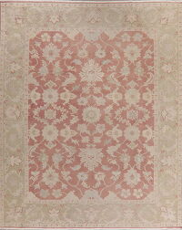 Antique Look Floral Oushak Turkish Area Rug 8x10