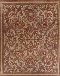 Antique Floral Aubusson French Area Rug 12x15 Large
