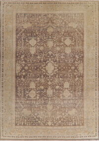 Antique Look Muted Oushak Egyptian Area Rug 10x14