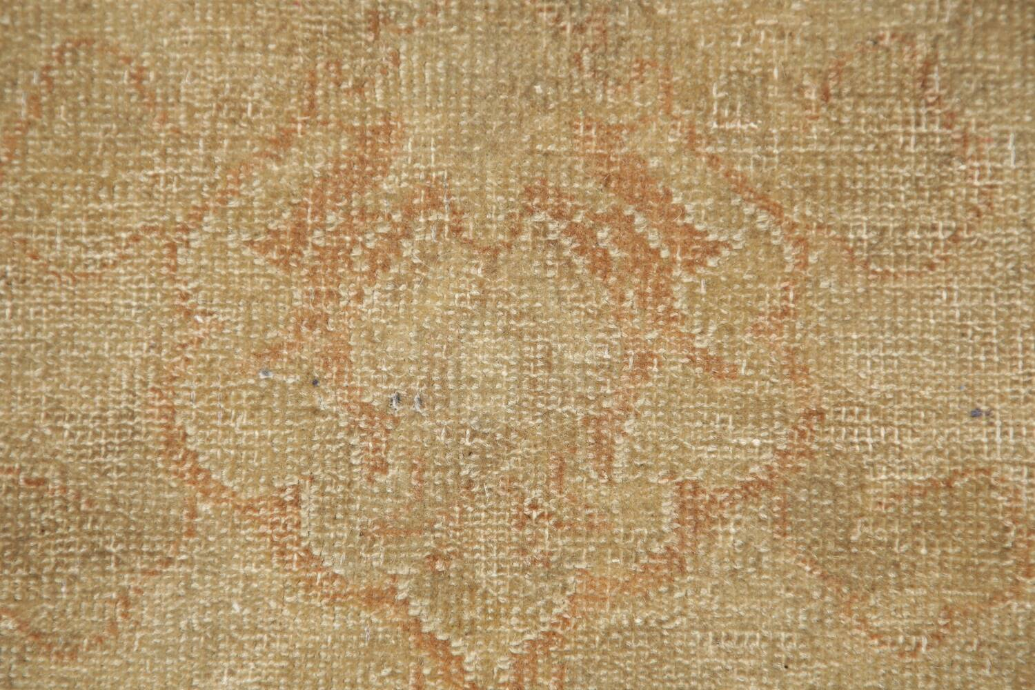 Antique Muted Floral Oushak Turkish Area Rug 6x8 image 9