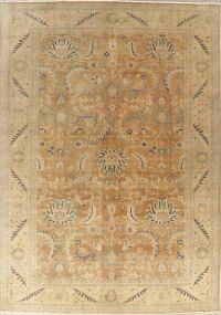 Antique Look Floral Oushak Turkish Area Rug 10x14