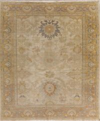 Vegetable Dye Oushak Egypt Area Rug 8x10