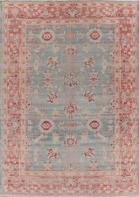 Vegetable Dye Oushak Egyptian Area Rug 9x12