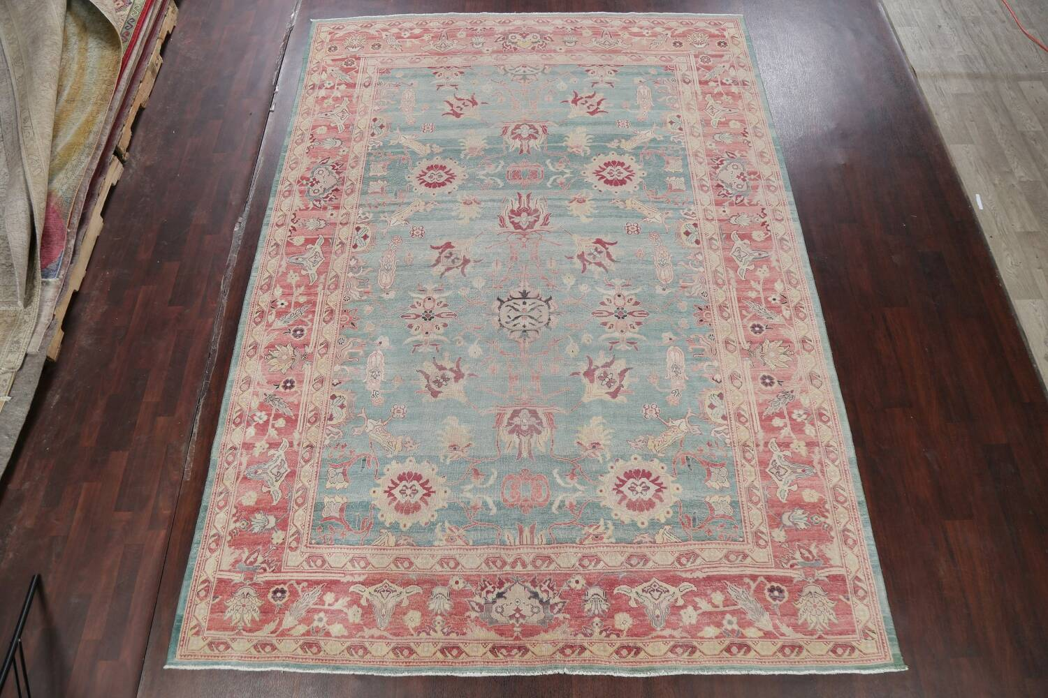 Vegetable Dye Oushak Egyptian Area Rug 9x12 image 2