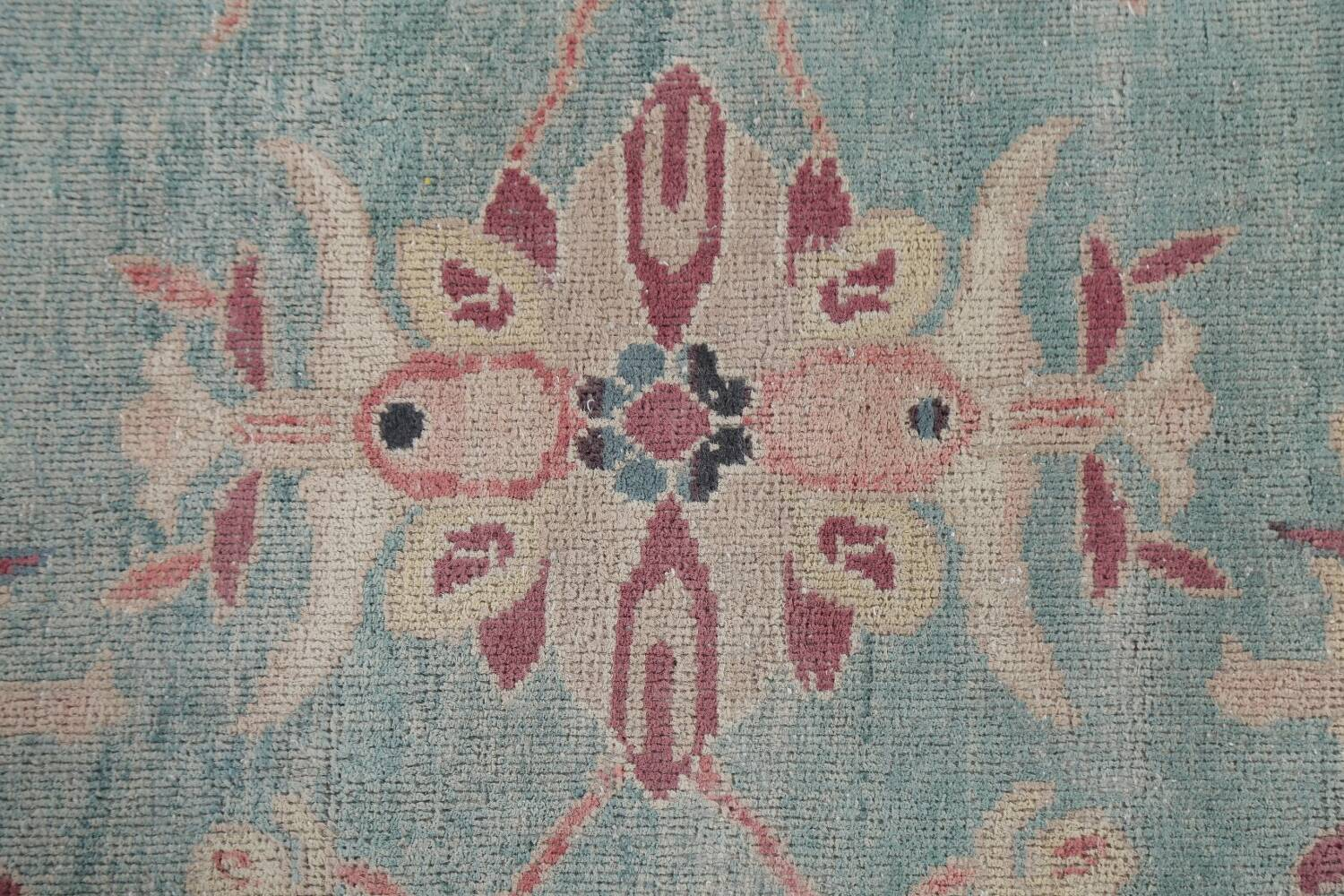 Vegetable Dye Oushak Egyptian Area Rug 9x12 image 10