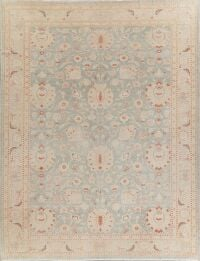Vegetable Dye Oushak Turkish Area Rug 10x14