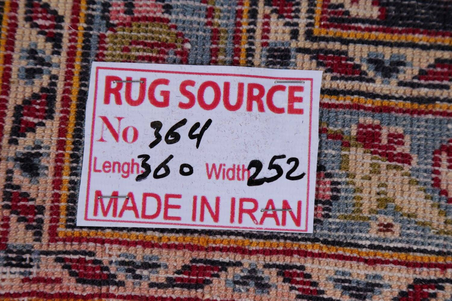 Traditional Floral Red Kashan Persian Area Rug 8x12 image 24