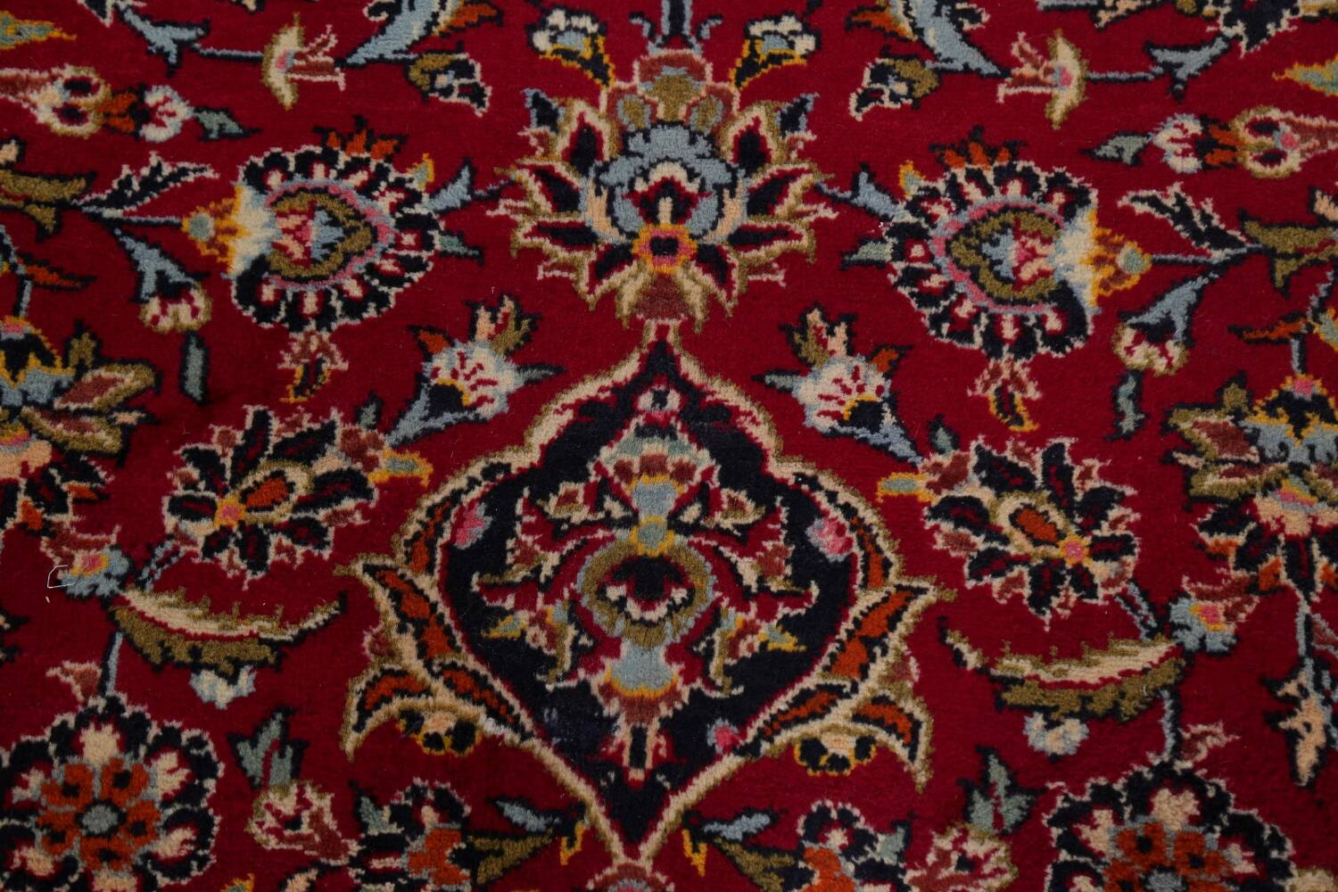 Traditional Floral Red Kashan Persian Area Rug 8x12 image 11