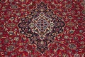 Traditional Floral Red Kashan Persian Area Rug 8x12 image 4