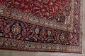 Traditional Floral Red Kashan Persian Area Rug 8x12 image 16
