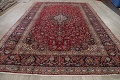 Traditional Floral Red Kashan Persian Area Rug 8x12 image 18