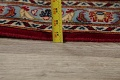 Traditional Floral Red Kashan Persian Area Rug 8x12 image 22