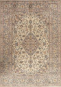 Traditional Floral Kashan Persian Area Rug 8x12