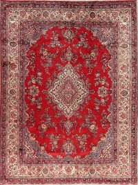 Floral Red Shahbaft Persian Area Rug 9x12