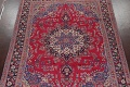 Floral Red Mashad Persian Area Rug 8x11 image 3