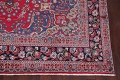 Floral Red Mashad Persian Area Rug 8x11 image 5