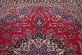 Floral Red Mashad Persian Area Rug 8x11 image 12