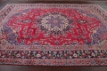 Floral Red Mashad Persian Area Rug 8x11 image 14