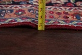 Floral Red Mashad Persian Area Rug 8x11 image 20