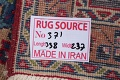 Floral Red Mashad Persian Area Rug 8x11 image 21