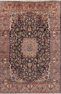 Floral Isfahan Persian Area Rug 9x13