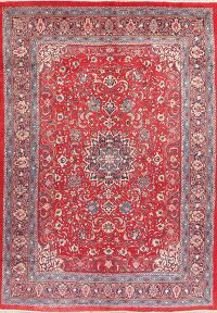 Floral Kashan Red Persian Area Rug 6x10