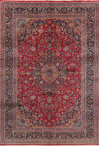 Floral Kashmar Red Persian Area Rug 8x11