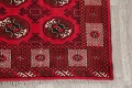 All-Over Geometric Red Balouch Persian Area Rug 6x10 image 5