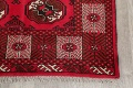 All-Over Geometric Red Balouch Persian Area Rug 6x10 image 7