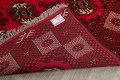 All-Over Geometric Red Balouch Persian Area Rug 6x10 image 19
