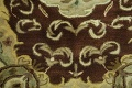 Victorian Style Aubusson Brown Runner Rug 3x9 image 8