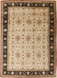 Ivory Floral Agra Oriental Area Rug 10x14