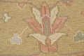 All-Over Green Floral Sumak Oriental Area Rug 8x8 Roud image 9