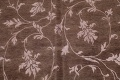 All-Over Floral Brown Art & Craft Oriental Area Rug 8x10 image 4