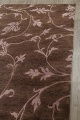 All-Over Floral Brown Art & Craft Oriental Area Rug 8x10 image 12
