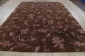 All-Over Floral Brown Art & Craft Oriental Area Rug 8x10 image 14