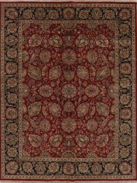 Floral Red Agra Oriental Area Rug 9x12