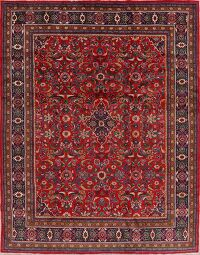 Floral Red Mahal Persian Area Rug 10x12